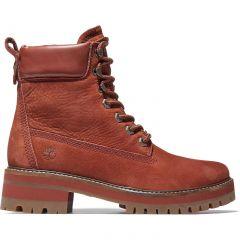 Timberland Womens Courmayeur Valley 6 Inch Boots - Medium Brown - A2HNK