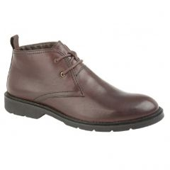 Roamers Mens Flexmaster Ankle Boots - Oxblood