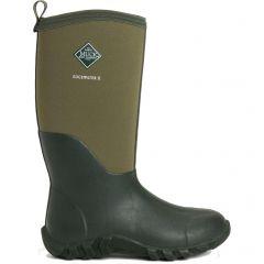 Muck Boots Mens Edgewater II Neoprene Wellies Rain Boots - Moss