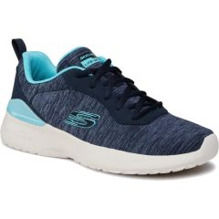 Skechers Womens Skech Air Dynamight Paradise Waves Trainers - Navy Aqua