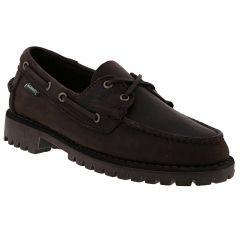 Sebago Mens Portland Ranger Boat Shoes - Total Dark Brown