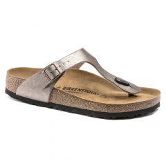 Birkenstock Womens Gizeh Regular Fit Sandals - Graceful Taupe