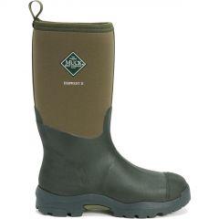 Muck Boots Mens Derwent II Neoprene Wellies Rain Boots - Moss