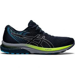 Asics Mens Gel Cumulus 22 Running Shoes Trainers - French Blue Black