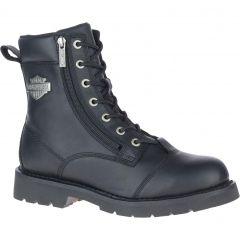 "Harley Davidson Mens Landry 6"" Lace Ankle Boot - Black"