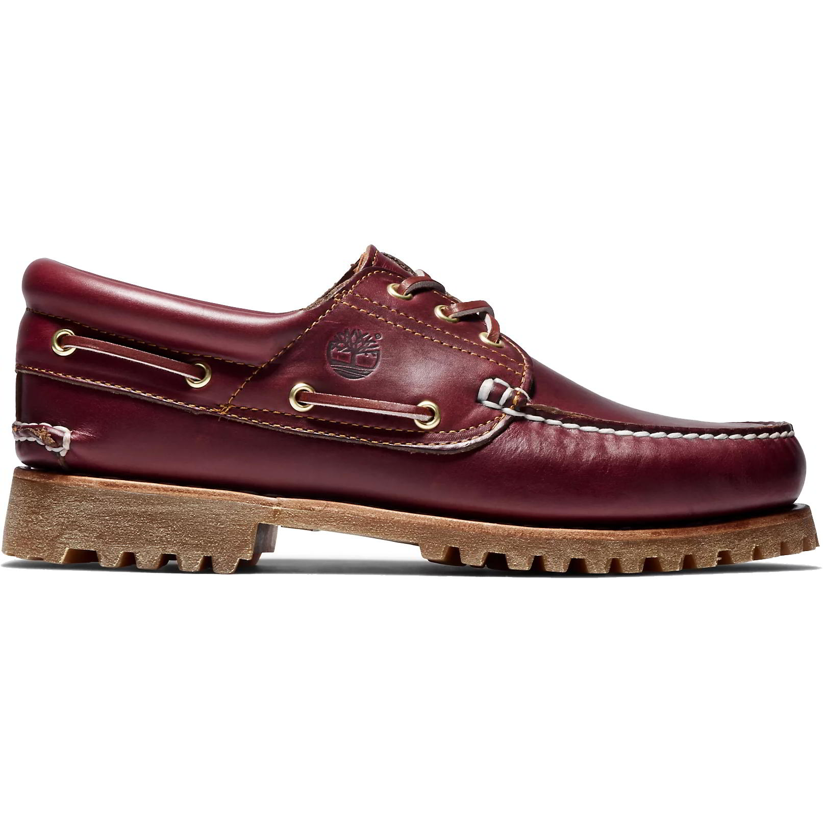 Timberland Mens Heritage Boat Shoes - 50009 - Burgundy