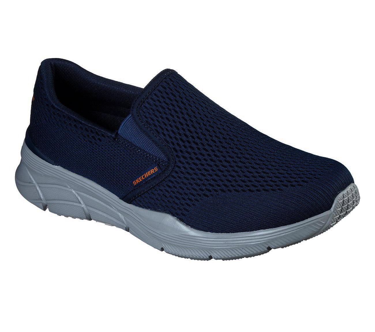 Skechers Mens Equalizer 4.0 Triple Play Shoes - Navy Orange