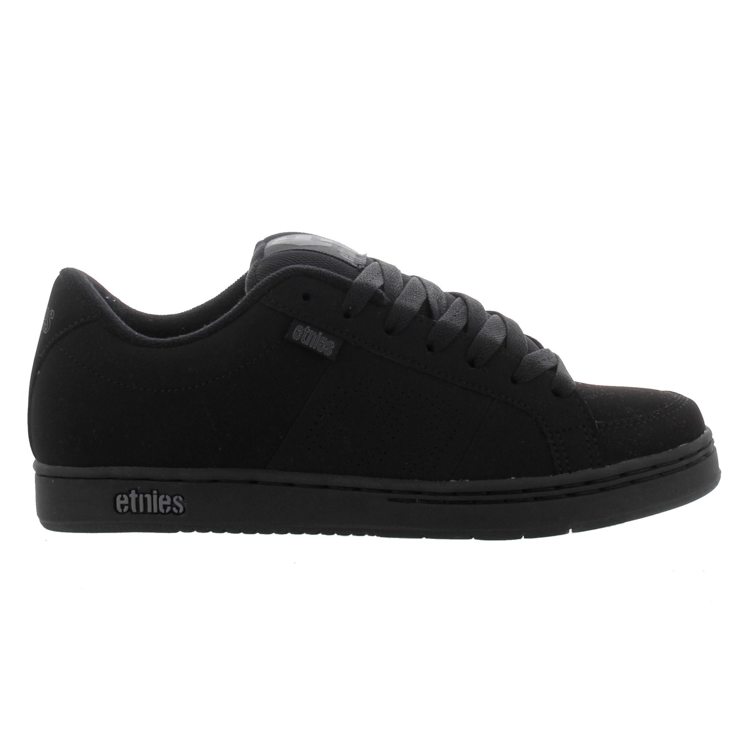 Etnies Mens Kingpin Black Skate Shoes Trainers - Black Black