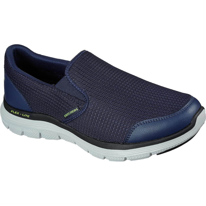 Skechers Mens Flex Advantage 4.0 Tuscan Shoes - Navy