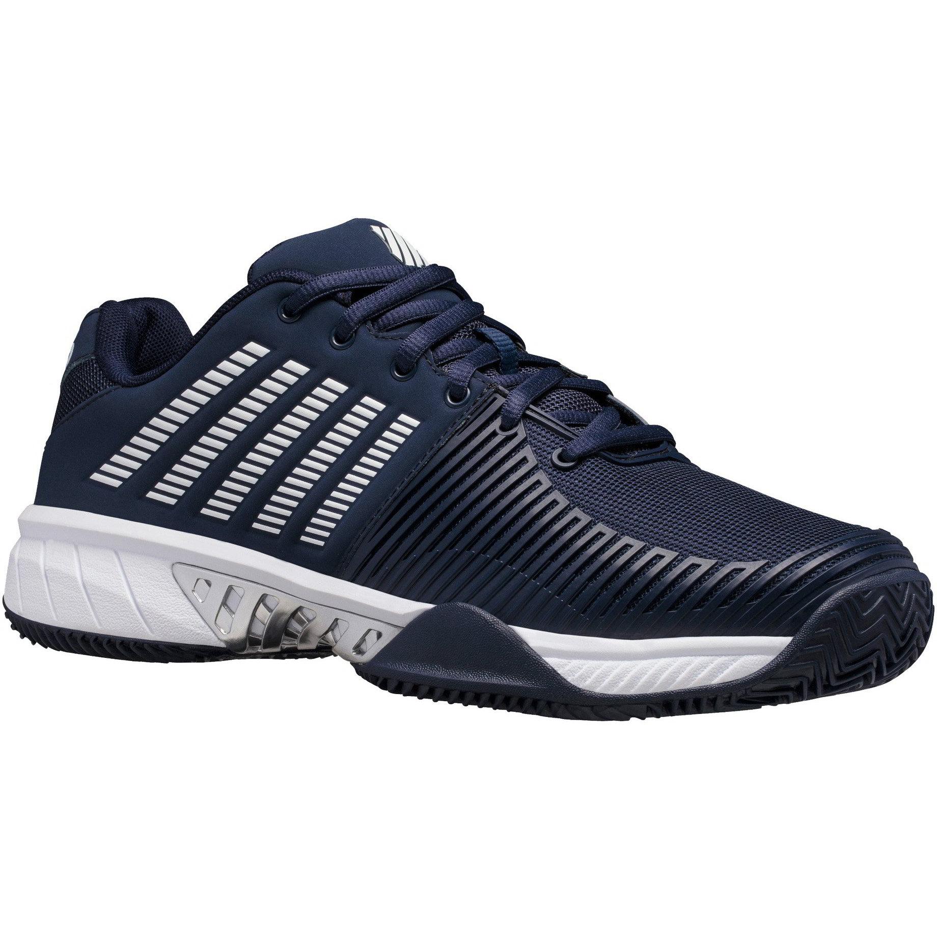 K-Swiss Mens Express Light 2 HB Tennis Shoes - Navy White