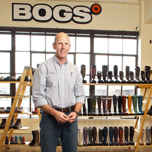 Founder of Bogs Bill Combs