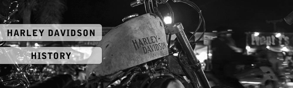 Harley Davidson History Banner