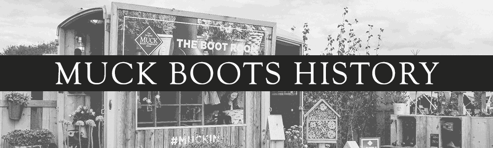 Muck Boots History Banner