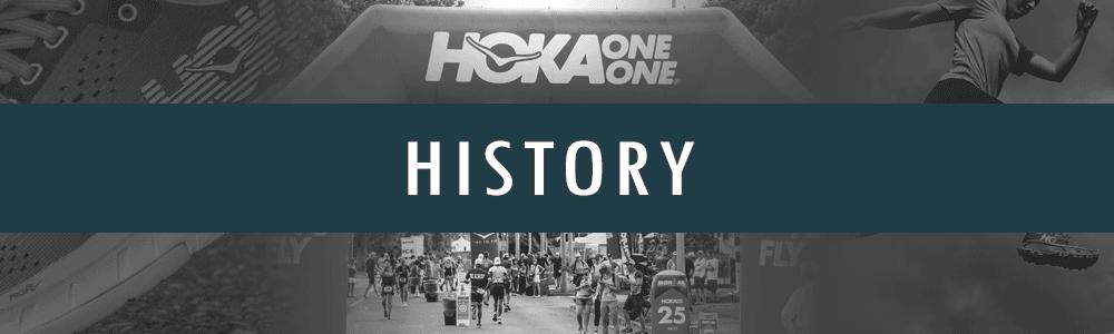 Hoka One One History Banner