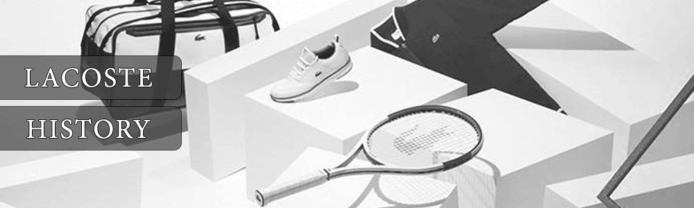 Lacoste History Banner