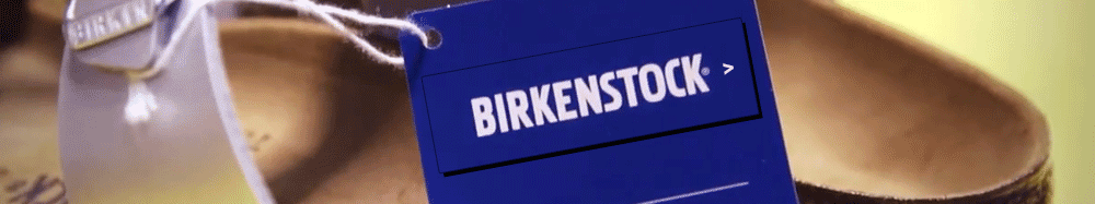 Birkenstock Tag on Shoe