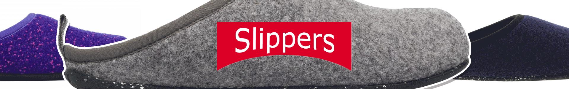 Camper Slippers Banner
