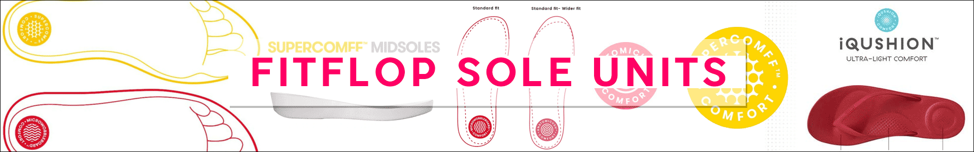 FitFlops Sole Units