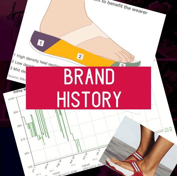 FitFlop History Link