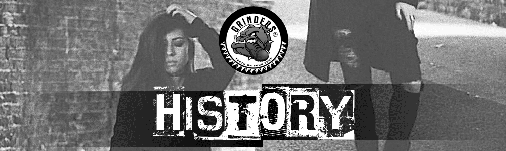 Grinders History Banner