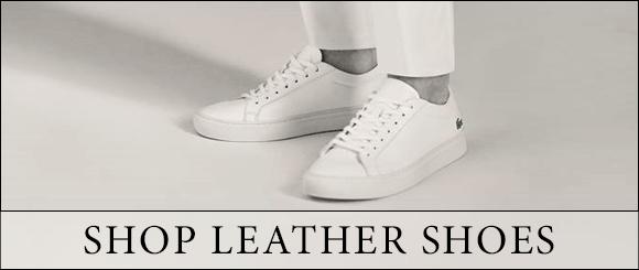 Shop Leather lacoste Shoes