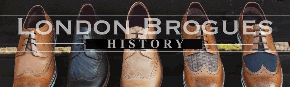 London Brogues History Banner