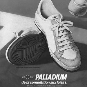 Palladium Tennis Ad