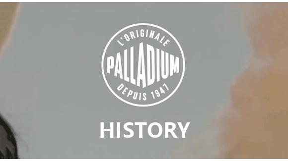 Palladium Brand History
