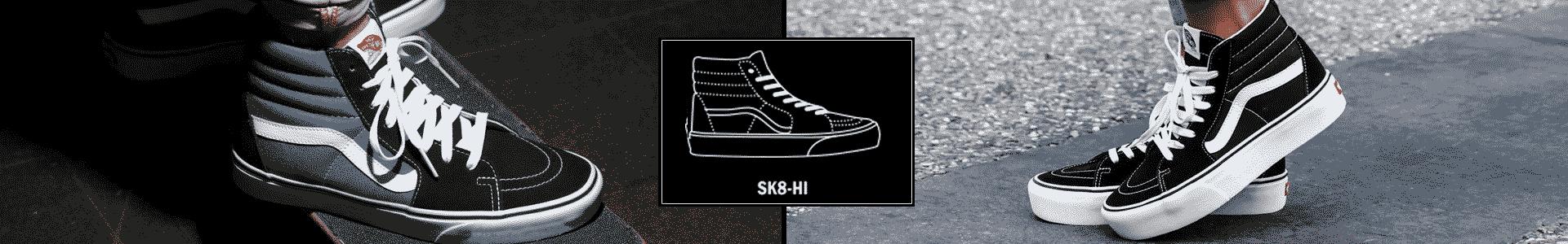 Vans Sk8 Hi Banner