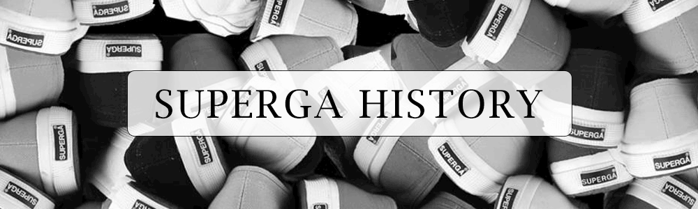 Superga History Banner