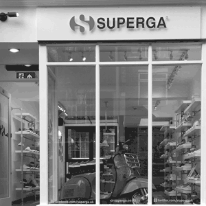 Superga Store Front